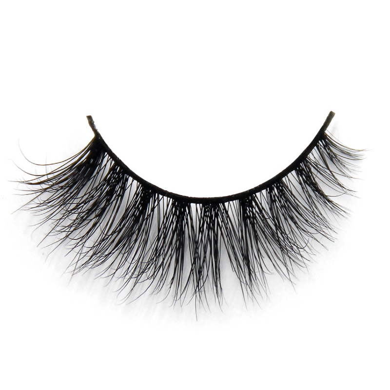 Wholesale Price 3D Mink Fur Lashes False Strip Eyelashes D108