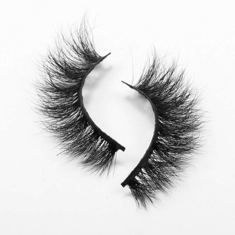 High Quality Private Label 3D Mink Strip Lashes Manufacturer GE01