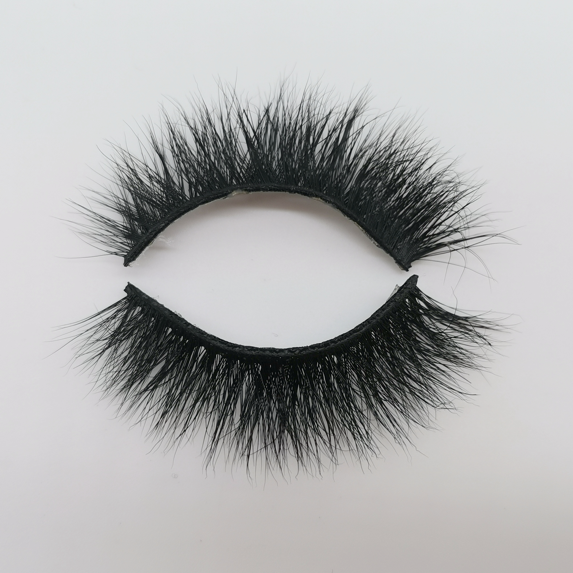 Wholesale real siberian mink fur mink eyelashes 3d mink lashes