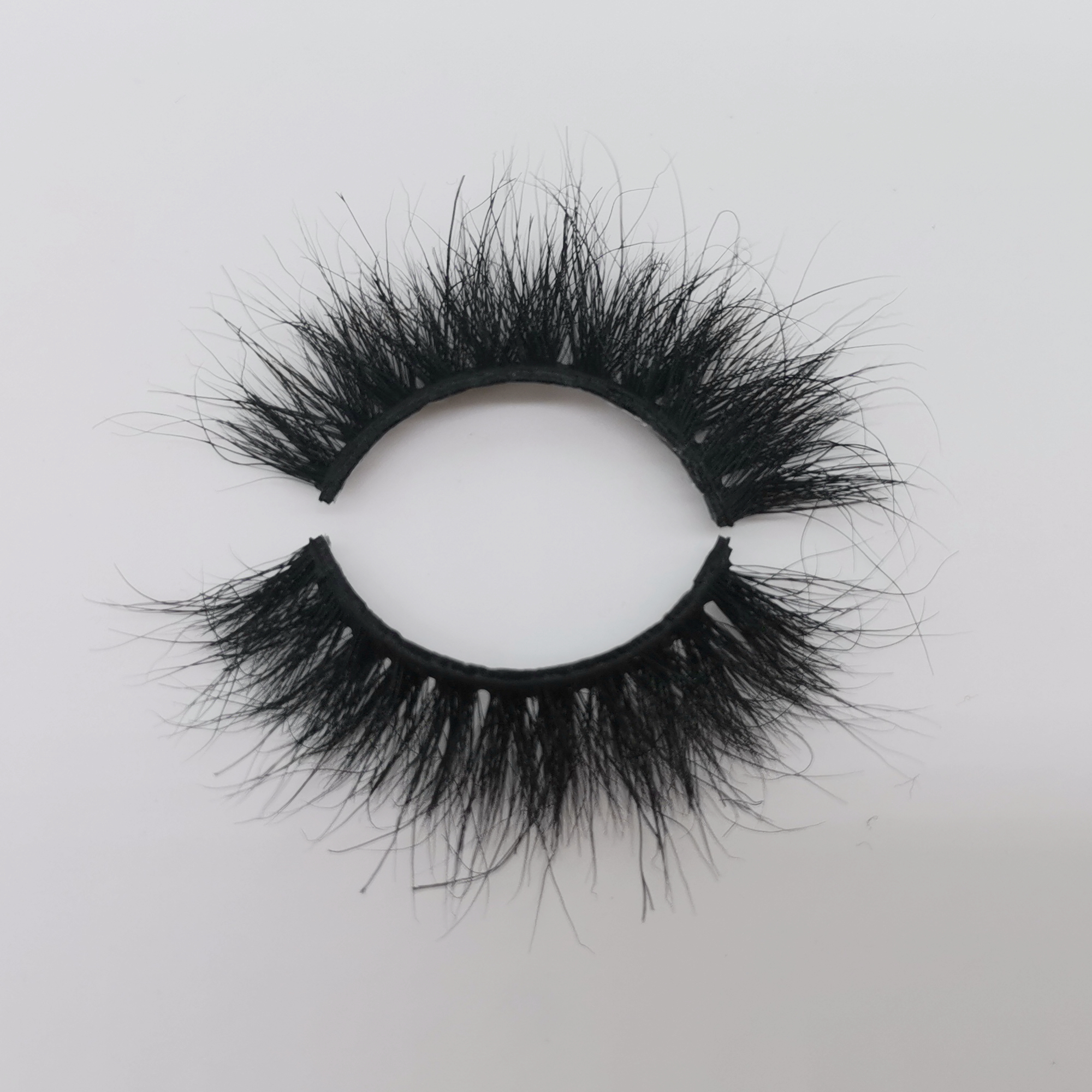 Wholesale Strip Eyelashes 3D Mink Lashes 100% Real Mink Fur False Eyelashes